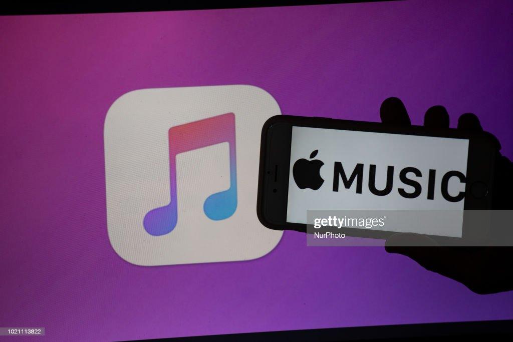 Users Of Music Streaming App Grow : News Photo