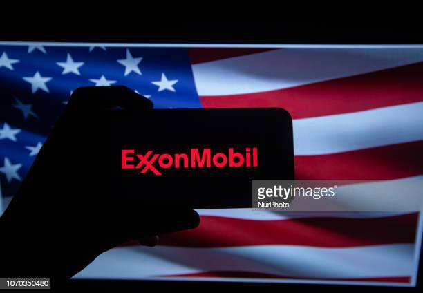 Exxonmobil Logo Pictures and Photos - Getty Images