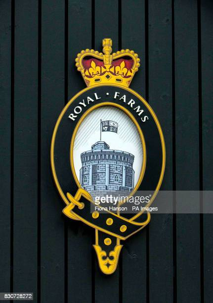 The logo of the Windsor Farm Shop that the Queen is opening to sell produce from her estates including game killed at royal shoots The shop will be...