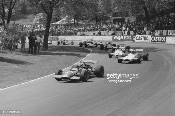 The London 'Alcoa' Trophy Formula 2, European Championship Race, at Crystal Palace, London, UK, 25th May 1970: first is François Cevert on Tecno...
