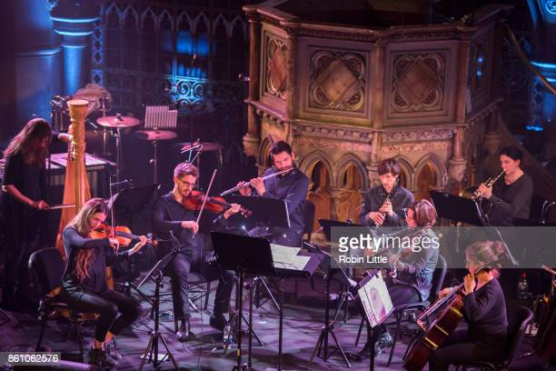 The London Contemporary Orchestra performs in Organ Reframed at the Union Chapel on October 13 2017 in London England