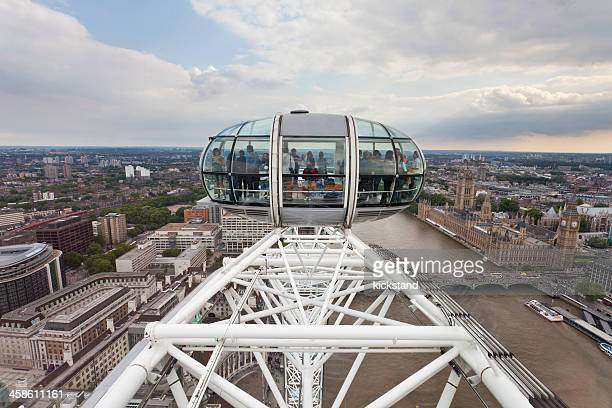 the london eye - london eye stock pictures, royalty-free photos & images