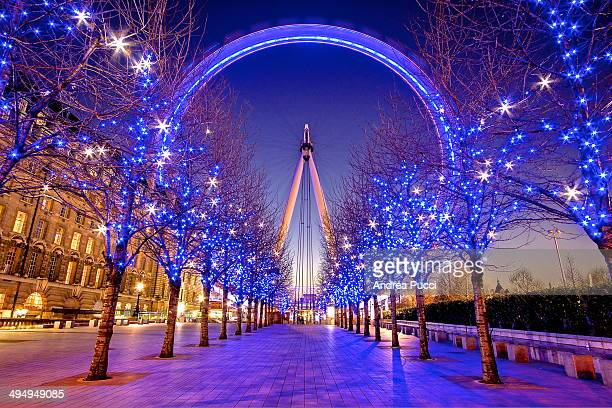 CONTENT] The London Eye situated on the banks of the River Thames