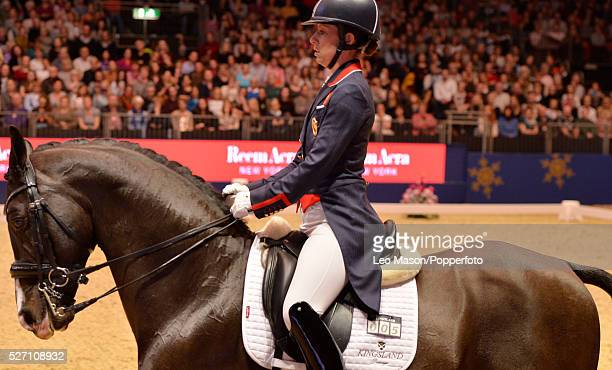 The London International Horse Show at Olympia UK FEI Reem Acra World Cup Dressage GP Freeestyle World Olympic European and World number 1 rider...