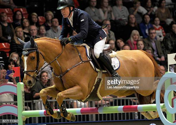 The London International Horse Show at Olympia UK The Christmas Speed Stakes Michael Whitaker GBR riding Quelbora Merze