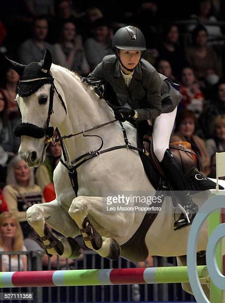 The London International Horse Show at Olympia UK The Christmas Speed Stakes AnnaJulia Kontio FIN riding Fardon