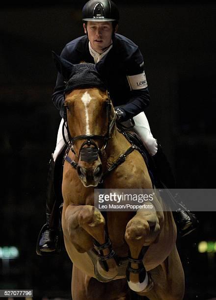 The London International Horse Show at Olympia UK The Longines Christmas Cracker won by Julien Epailiard FRA riding Cristallo World Number One Scott...