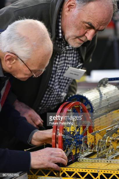 The London Model Engineering Exhibition held at Alexandra Palace on January 19 2018 in London England PHOTOGRAPH BY Matthew Chattle / Barcroft Images