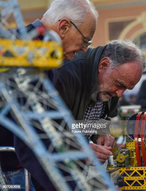 The London Model Engineering Exhibition held at Alexandra Palace on January 19 2018 in London England The Year of Engineering hopes to inspire a new...