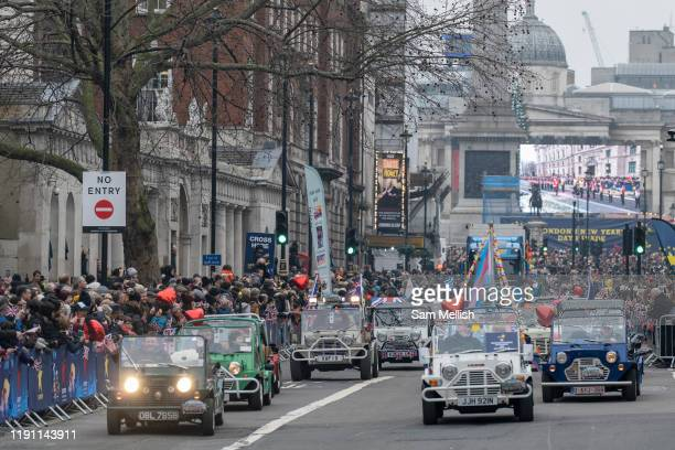 The London New Year's Day Parade on the 1st January 2020 in London in the United Kingdom The London New Year's Day Parade is an annual parade through...
