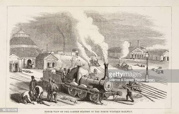 The London & North Western Railway was formed in 1846 and became known as the 'Premier line'.