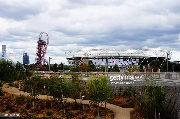 The London Olympic Park, Stadium and Tower, London United Kingdom