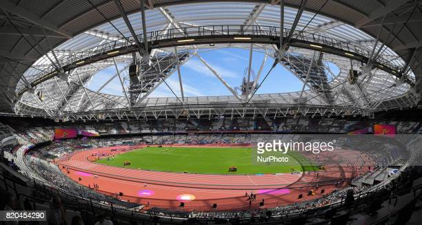 The London Stadium Queen Elizabeth Olympic Park during the London 2017 Para Athletics World Championships during World Para Athletics Championships...