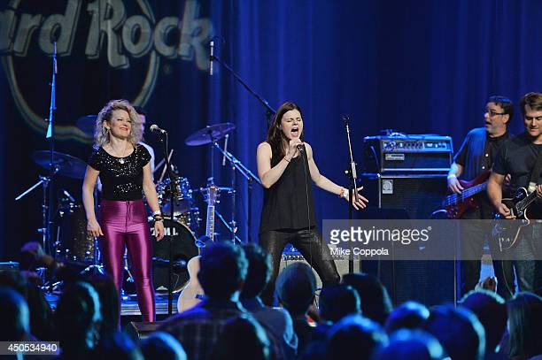 The London Wail performs at the Big Kids Rock A Battle Of The Bands To Benefit Little Kids Rock at Hard Rock Cafe Times Square on June 12 2014 in New...