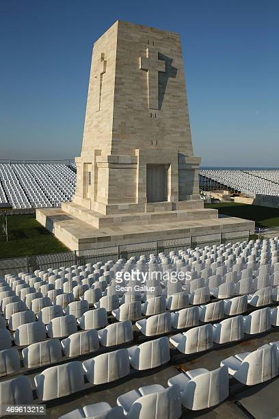The Lone Pine Memorial that commemorates the approximately 8,700 Australian soldiers who died during the Gallipoli Campaign stands between...
