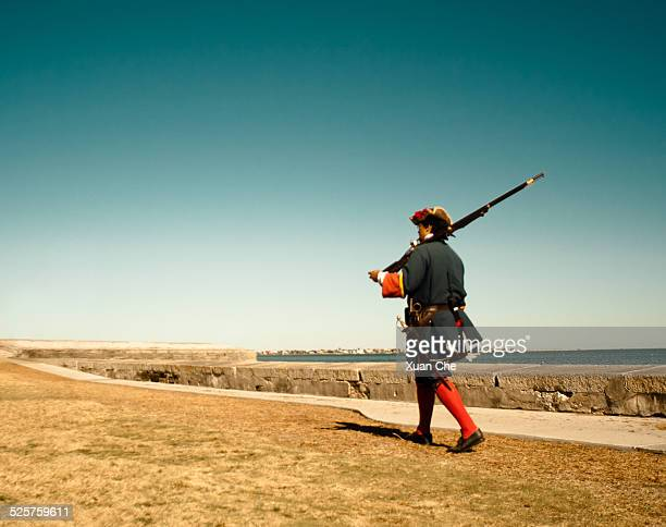 the lone spaniard - xuan che stock pictures, royalty-free photos & images
