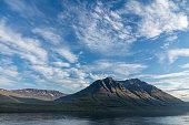 long calm deep fjord seydisfjordur twists