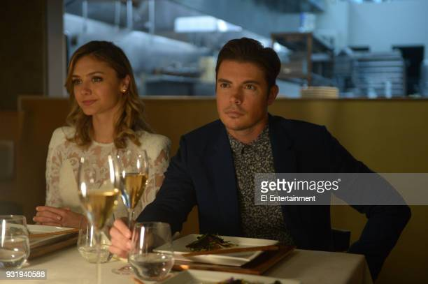 THE ARRANGEMENT 'The Long Game' Episode 201 Pictured Christine Evangelista as Megan Morrison Josh Henderson as Kyle West