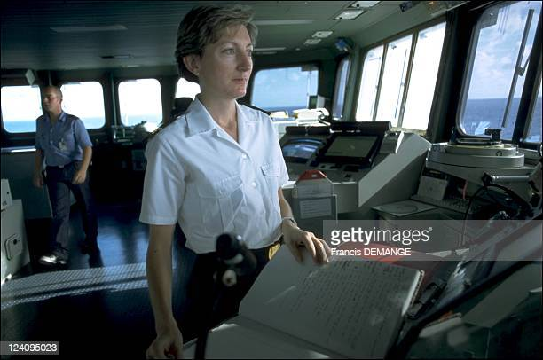 The long haul for the aircraft carrier the Charles de Gaulle In France On November 04 2000 MarieHelene aged 40 is a lieutenant on board the...