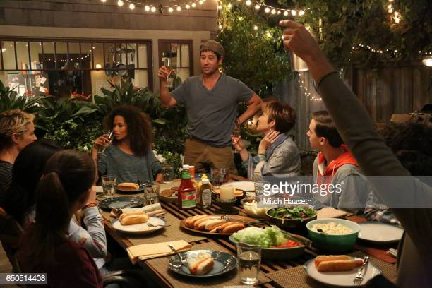 THE FOSTERS 'The Long Haul' Stef's mom Sharon and her boyfriend Will announce their engagement on allnew episode of 'The Fosters' airing TUESDAY...