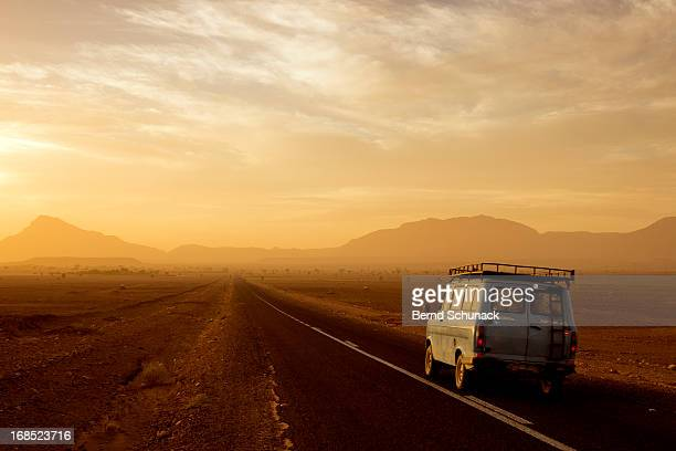 the long journey through the desert - bernd schunack stock photos and pictures
