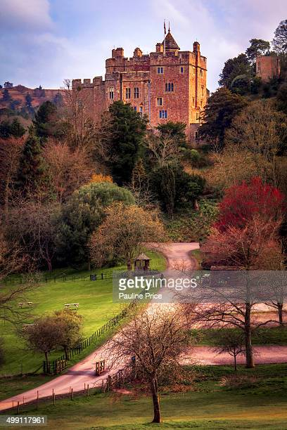 The Long Path to Dunster Castle, Dunster, Somerset, England.