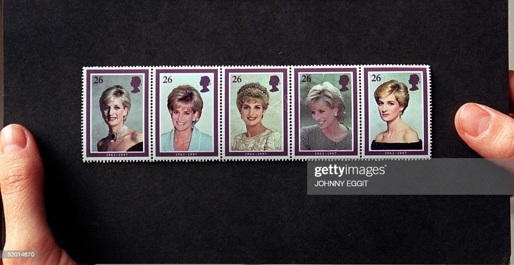 The long-awaited stamps to commemorate the life of : News Photo