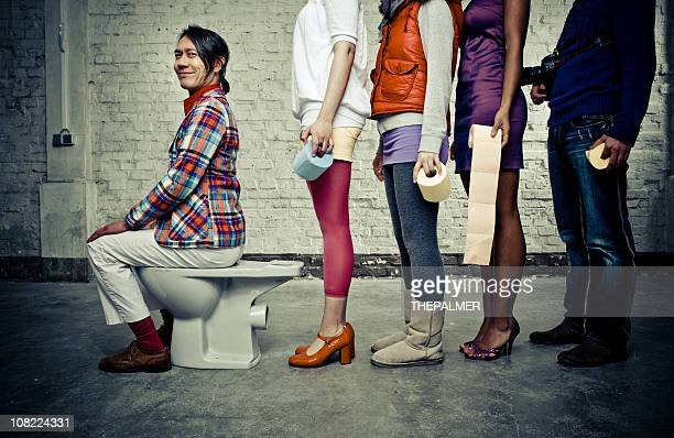 the longest yard - funny toilet paper stock pictures, royalty-free photos & images