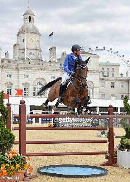 The Longines Global Champions Tour at Horse Guards Parade London UK Grand Prix presented by Qater The winner was Scott Brash GBR riding Hello Sanctos