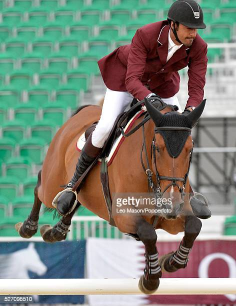 The Longines Global Champions Tour at Syon Park London UK The Massimo Dutti Trophy Sheikh Ali Bin Khalid Al Thani QAT riding First Division The...