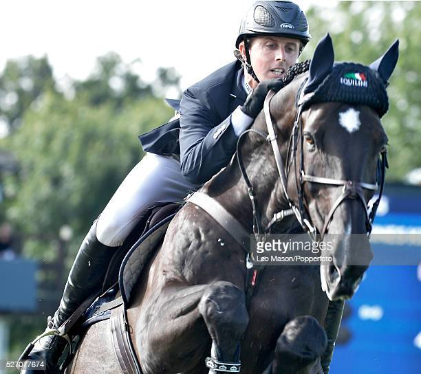 The Longines King George V Gold Cup Hickstead UK Ben Maher GBR riding Tripple X wins the jump off round