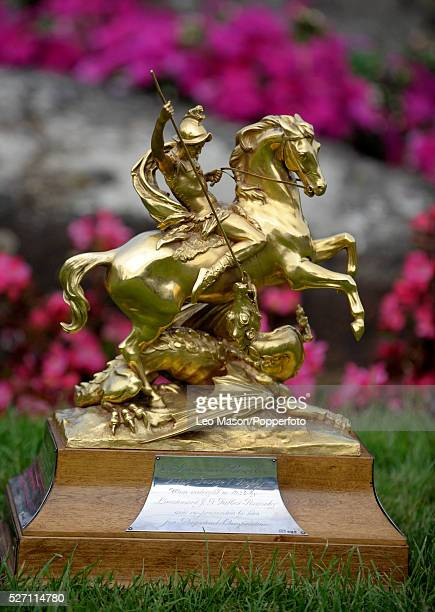 The Longines King George V Gold Cup The cup is solid gold and thought to be the most valuable cup in the world The event was won by Tim Stockdale GBR...