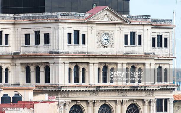 The Lonja del Comercio or Commerce Market building in Old Havana served as the stock exchange in the capital until the 1959 Cuban Revolution