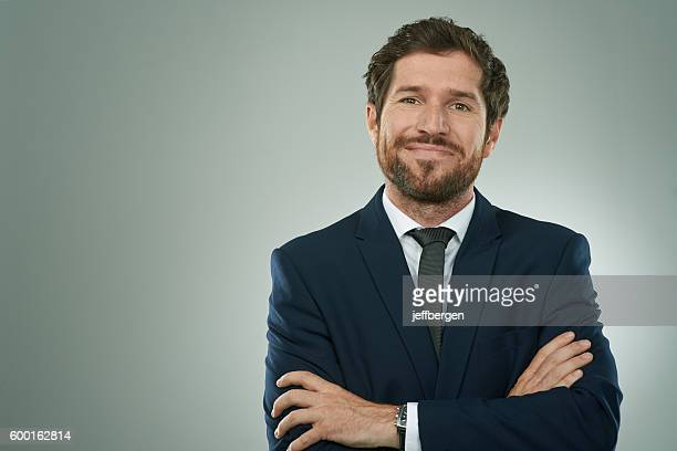 the look of corporate success - full suit stock pictures, royalty-free photos & images