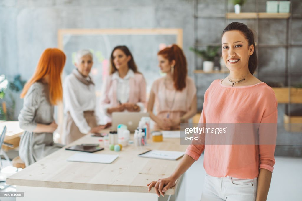 The look of success : Stock Photo