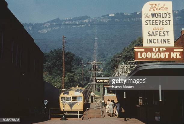 The Lookout Mountain Incline Railway Chatanooga Tennessee USA circa 1960