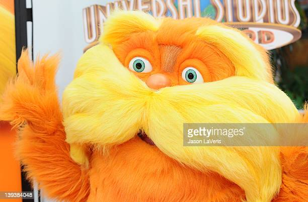 The Lorax attends the premiere of Dr Seuss' The Lorax at Universal Studios Hollywood on February 19 2012 in Universal City California