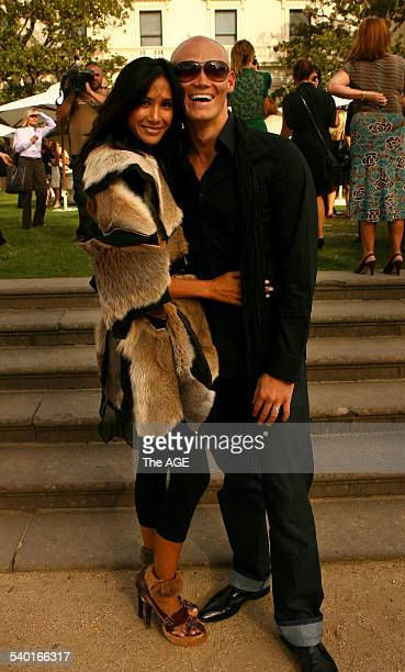 The L'Oreal Melbourne Fashion Festival Opening Party was held this afternoon at Government House. Michael Klim and wife Linda Rama 4th March 2007 THE...