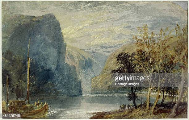The Lorelei rock 1817 Found in the collection of the Leeds Museums Galleries