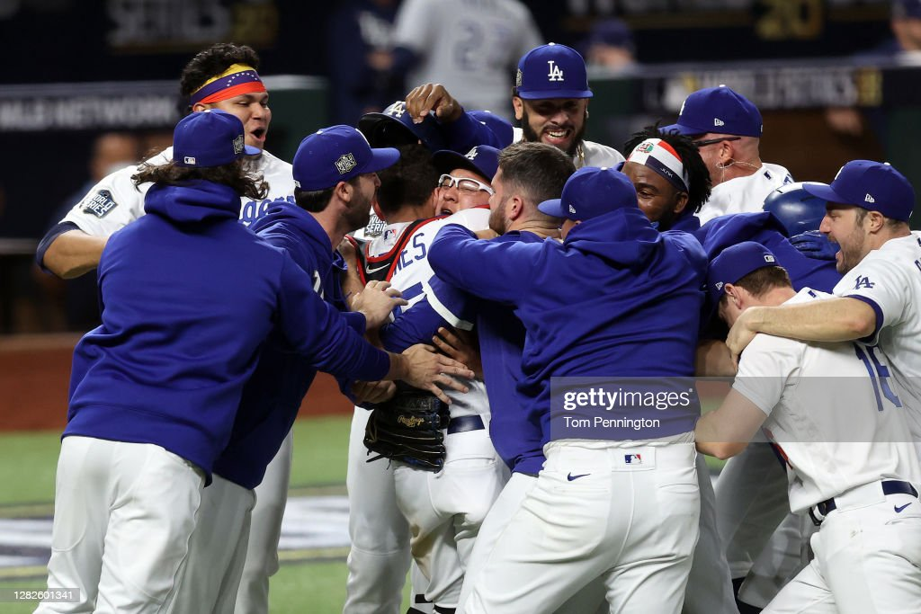 World Series - Tampa Bay Rays v Los Angeles Dodgers  - Game Six : News Photo
