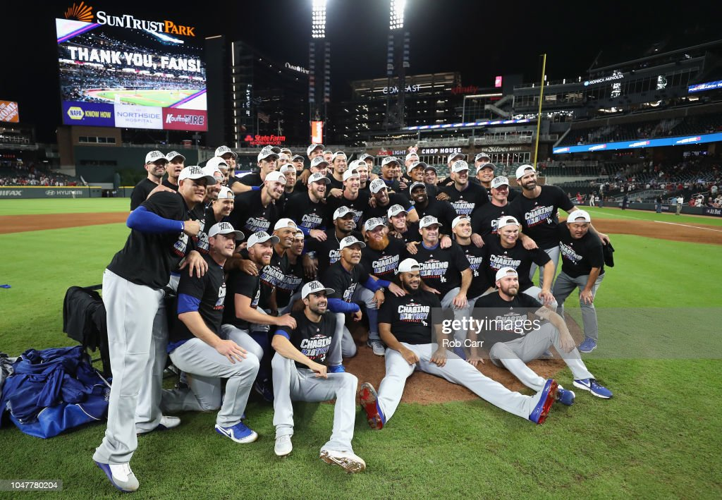 Divisional Round - Los Angeles Dodgers v Atlanta Braves - Game Four : News Photo