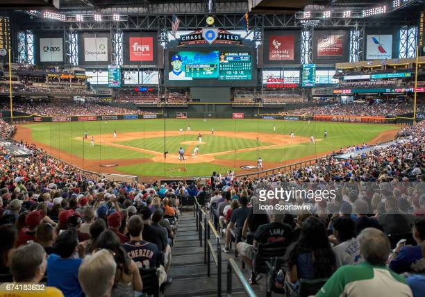 The Los Angeles Dodgers defeated the Arizona Diamondbacks 62 in front of a crowd of 28704 on April 23 at Chase Field in Phoenix AZ