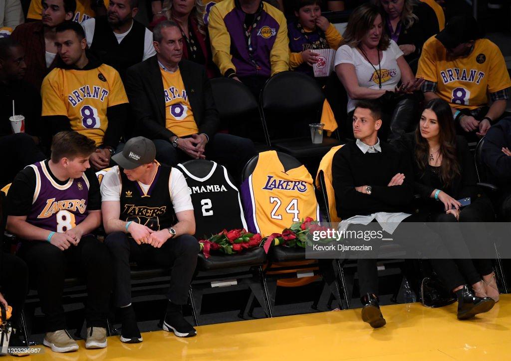 Portland Trail Blazers v Los Angeles Lakers : News Photo