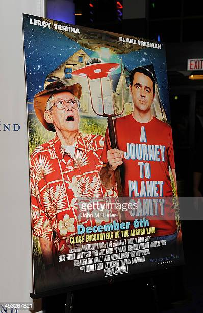The Los Angeles Premiere of A Journey To Planet Sanity at the Laemmle Monica 4Plex on December 2 2013 in Santa Monica California