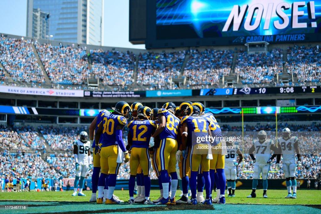Los Angeles Rams vCarolina Panthers : ニュース写真