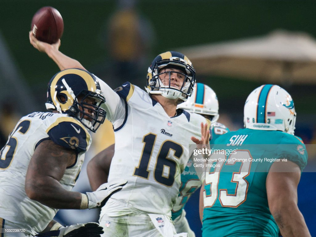Goff, Rams offense not panicking after consecutive losses