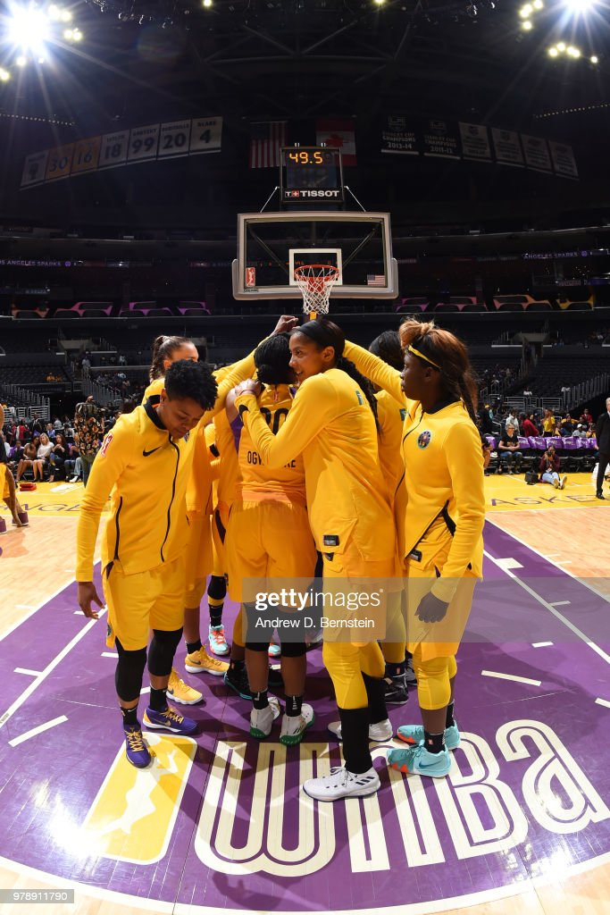 Indiana Fever v Los Angeles Sparks