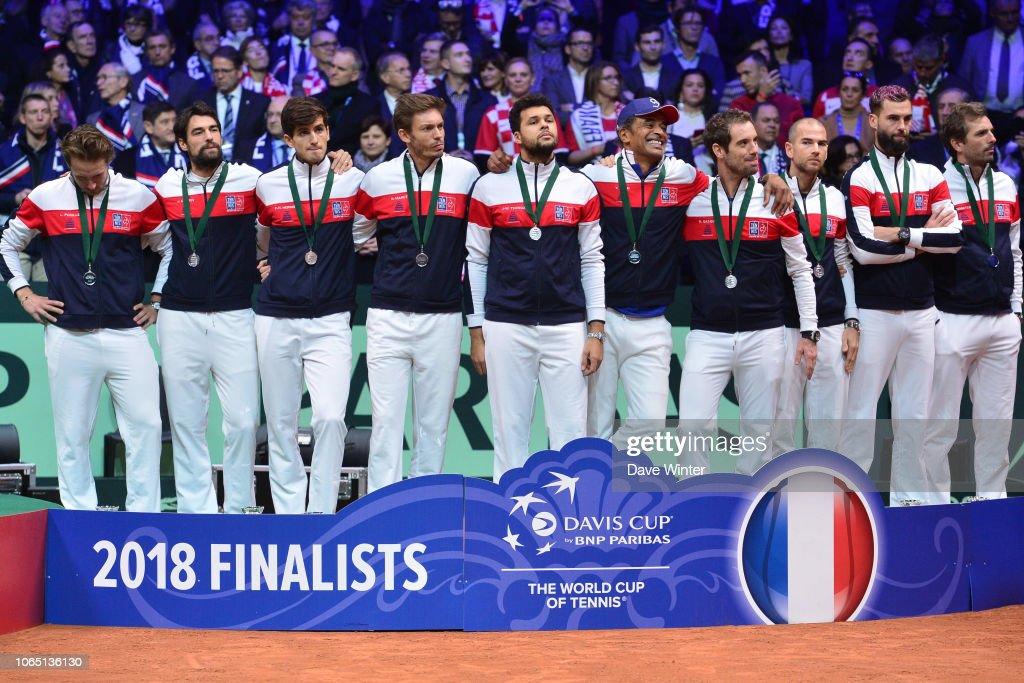 France v Croatia - Davis Cup Final : News Photo