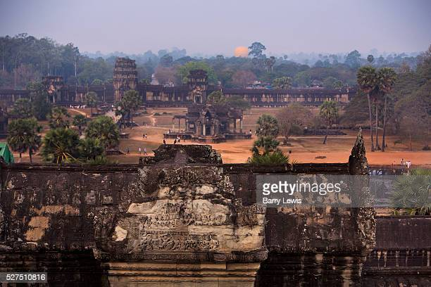 The 'lost city' of Angkor first attracted the interest of Europeans in the 1800s after Cambodia was colonized by the French Today Angkor Wat...