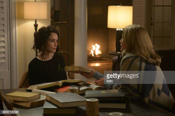 TIMELESS 'The Lost Generation' Episode 113 Pictured Abigail Spencer as Lucy Preston Susanna Thompson as Carol Preston
